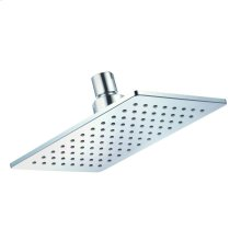 "Chrome Mono Chic® 5""x8"" Rectangular Showerhead, 2.5gpm"