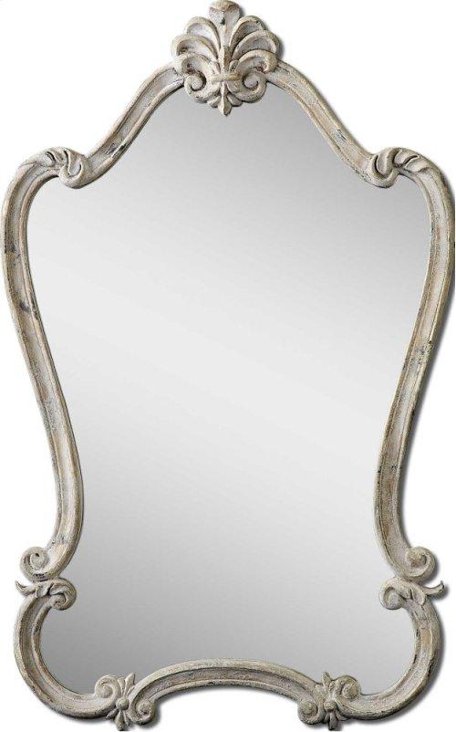 Walton Hall White Vanity Mirror