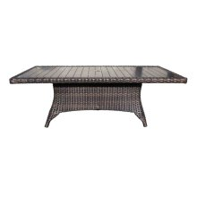"Louvre 112"" x 46"" Rectangular Dining Table"