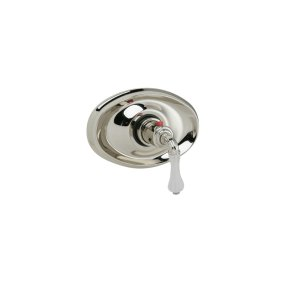 """3/4"""" Thermostat Frosted Crystal - Pewter"""