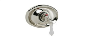 """3/4"""" Thermostat Frosted Crystal - Pewter Product Image"""
