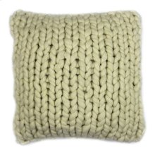 Abuela Wool Feather Cushion Natural 20x20