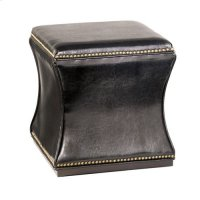 Hidden Treasures Black Storage Cube Product Image