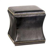 Hidden Treasures Black Storage Cube