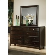 Phoenix Transitional Deep Cappuccino Mirror Product Image