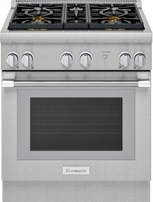 Thermador 3 piece package with a freestanding counter depth Bosch