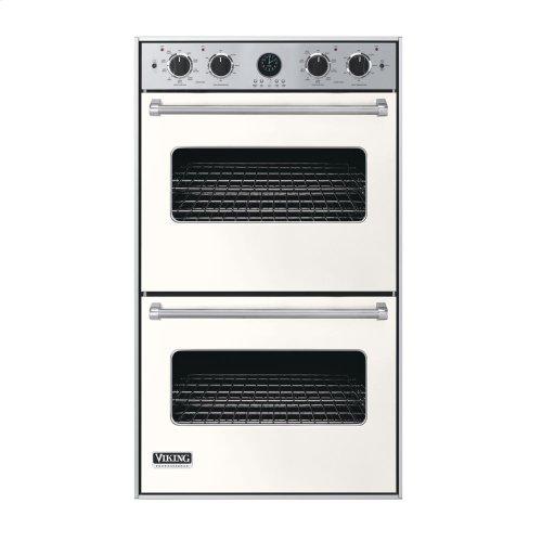 """Cotton White 30"""" Double Electric Premiere Oven - VEDO (30"""" Double Electric Premiere Oven)"""