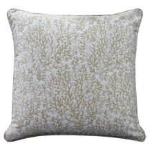 REEF TAUPE FEATHER PILLOW