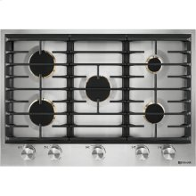 "Euro-Style 30"" 5-Burner Gas Cooktop, Stainless Steel"