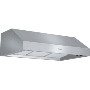 "Bosch800 Series, 36"" Under-cabinet Wall Hood, 600 CFM"