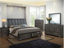Jaymes Queen Storage Bed