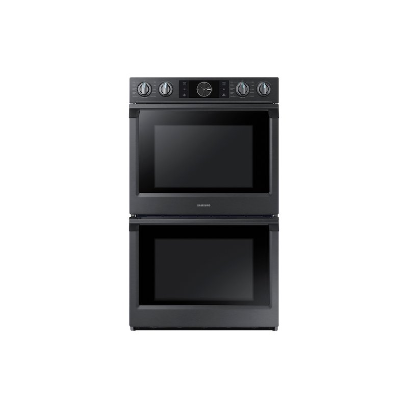 "30"" Flex Duo Double Wall Oven in Black Stainless Steel"