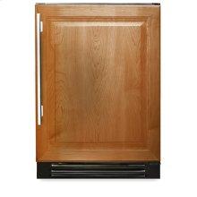 24 Inch Overlay Solid Door Beverage Center - Left Hinge Overlay Solid