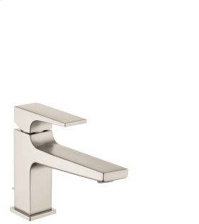 Brushed Nickel Metropol 100 Single-Hole Faucet with Lever Handle without Pop-Up, 1.2 GPM