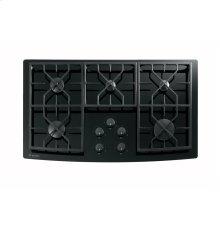 "GE Monogram® 36"" Gas on Glass Cooktop"