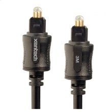 Xantech EX Series TOSLINK Cable (3m)