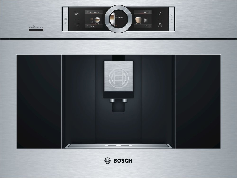Bosch BCM8450UC Coffee System connects to Amazon's Echo/Alexa