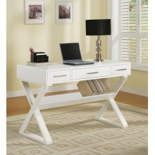 Casual White Writing Desk