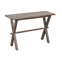 X-Table Console Table - Gray, 6254