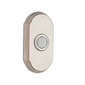 Satin Nickel BR7017 Arch Bell Button
