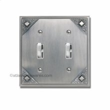 Craftsman Double Toggle Switch Plate