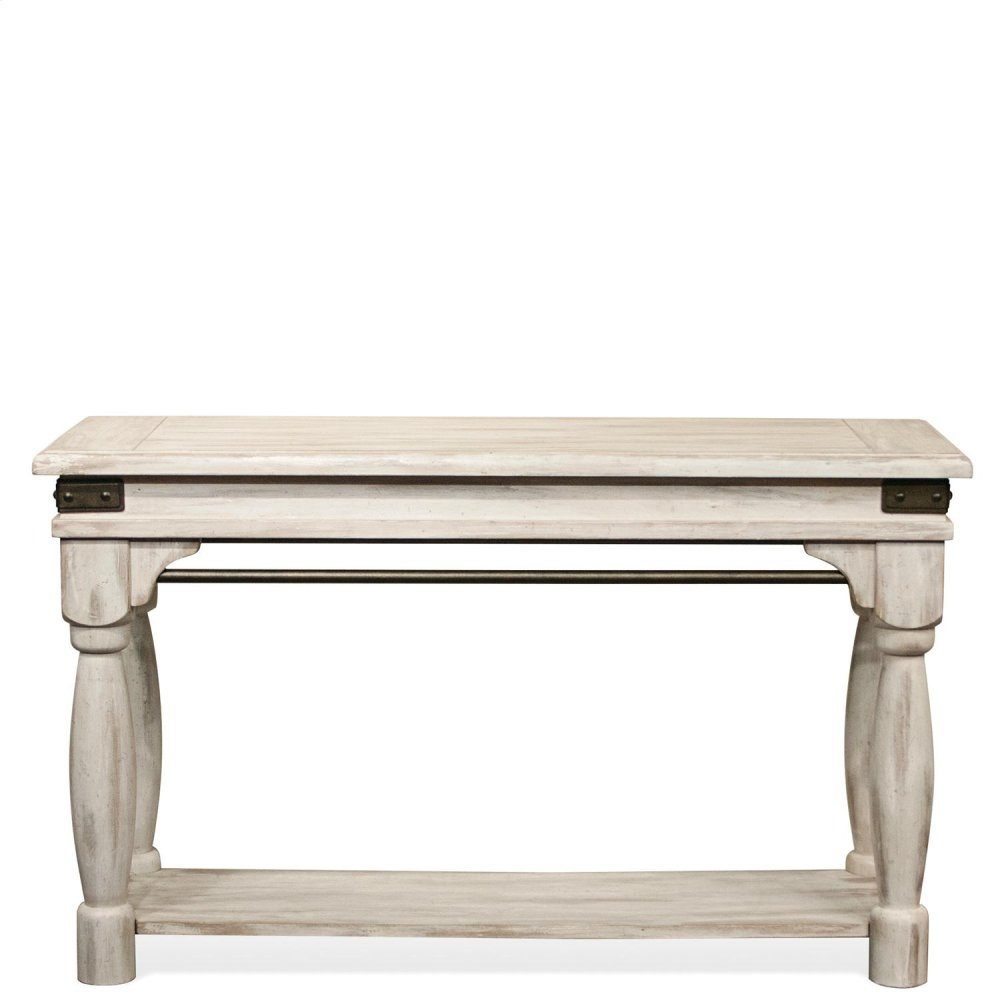 Regan   Sofa Table   Farmhouse White Finish