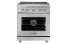 "30"" Heritage Gas Pro Range, Silver Stainless Steel, Natural Gas Product Image"