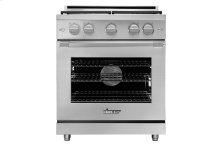 "30"" Heritage Gas Pro Range, Color Match, Liquid Propane/High Altitude"