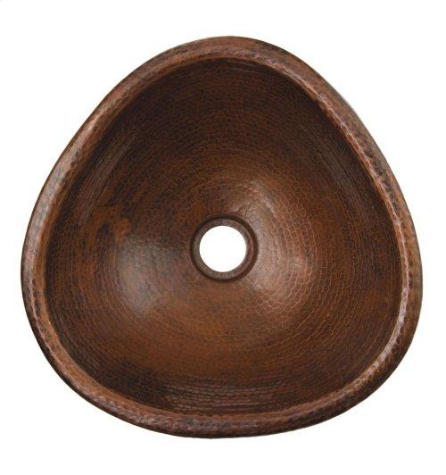 Triangle Matisse Black Copper Bath Sink