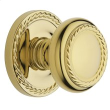 Lifetime Polished Brass 5064 Estate Knob
