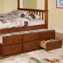 University Twin Trundle W/ 3 Drawers