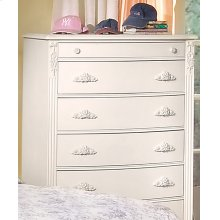 Six Drawer Chest With Felt Lined Vanity Drawer