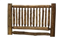 Small Spindle Headboard - Single - Natural Cedar