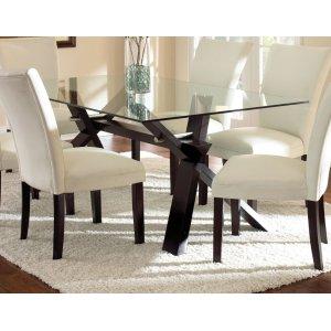 Steve Silver Co.Berkley 72 inch Glass Top Table