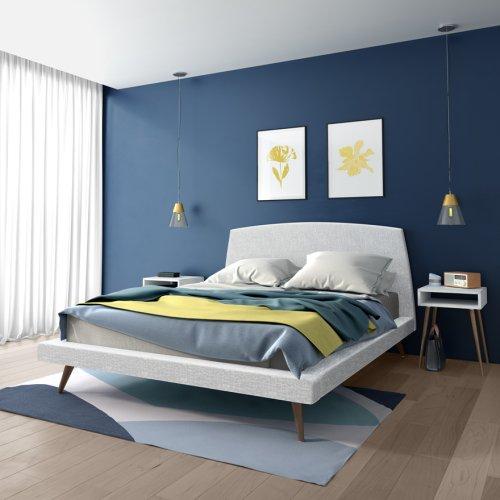 Whitney Cosmopolitan Upholstered Bed - Queen