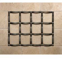 Grid - Backsplash Silicon Bronze Brushed