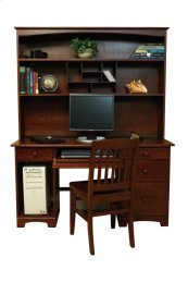 "Home Office Hutch For 56"" Top Desk"