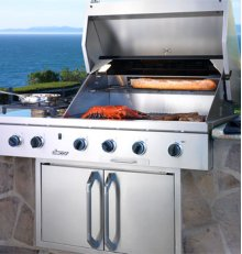 "52"" and 36"" Built-In Outdoor Grills"