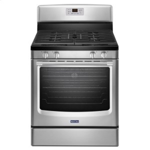 MaytagHERITAGE30-inch Wide Gas Range with Convection and Third Rack - 5.8 cu. ft.