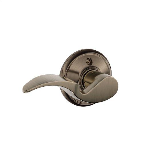 Avanti Lever Non-turning Lock - Antique Pewter