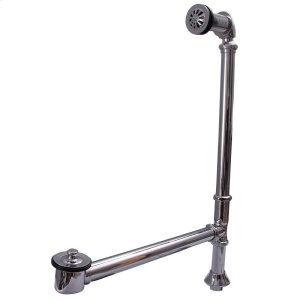 Pivoting Leg Tub Drain - Brushed Nickel Product Image