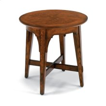 Las Cruces Round End Table