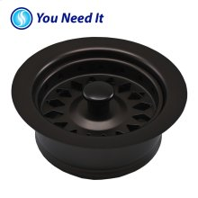Oil Rubbed Bronze Disposal Assembly Fits In-Sink-Erator