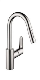 Chrome Focus 2-Spray Prep Kitchen Faucet, Pull-Down, 1.75 GPM Product Image