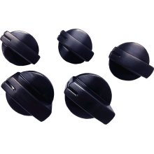 Cooktop Control Knob Kit, Black Stainless Steel HEZ27751