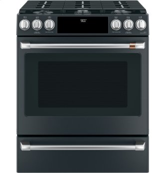 "30"" Self-Cleaning Dual Fuel Convection Range with Warm/Storage Drawer"