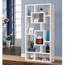 Geometric Cube White Bookcase Product Image