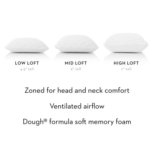 Zoned Dough - King Mid Loft Plush
