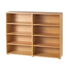 8 Shelf Bookcase : Natural