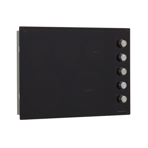 """30"""" Electric Cooktop with 5 Elements and Knob Controls - Black"""